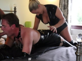 guy fuck slutty latex