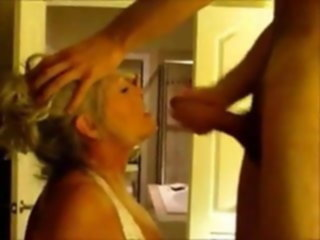 sucks fuck wife blonde