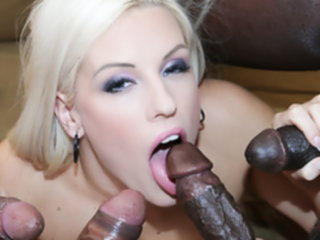 interracial fuck blonde horny